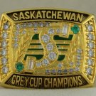 1989  Saskatchewan Roughriders The 77th Grey Cup Championship Rings Ring