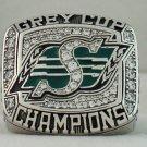2007 Saskatchewan Roughriders CFL Grey Cup Championship Rings Ring