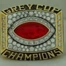 2001 Calgary Stampeders Grey Cup  Championship Rings Ring