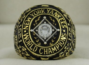1951 New York Yankees World Series Championship Rings Ring