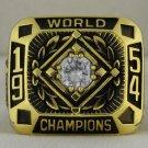 1954 New York Giants World Series Championship Rings Ring