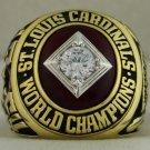 1964 St. Louis Cardinals MLB World Series Championship Rings Ring