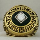 1973 Oakland Athletics World Series Championship Rings Ring