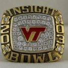 2003 VT Virginia Tech NCAA Insight Bowl Championship Rings Ring