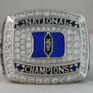 2010 Duke Blue Devils NCAA Basketball  National Championship Rings Ring