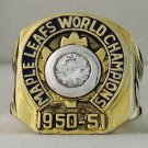 1951 Toronto Maple Leafs Stanley Cup Championship Rings Ring