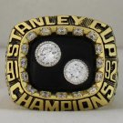 1992 Pittsburgh Penguins Stanley Cup Championship Rings Ring