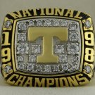 1998 Tennessee Volunteers NCAA Fiesta Bowl National Championship Rings Ring