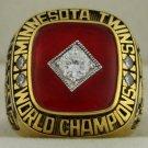 1991 Minnesota Twins World Series Championship Rings Ring