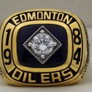 1984 Edmonton Oilers Stanley Cup Championship Rings Ring