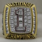 2005 Texas Longhorns NCAA Big 12 Fiesta Championship Rings Ring