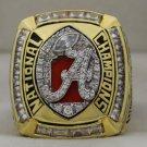 2011 Alabama Crimson Tide NCAA National Championship Rings Ring