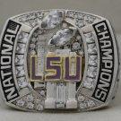 2007 LSU Tigers NCAA BCS National Championship Rings Ring