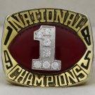 1985  North Carolina NCAA Basketball  National Championship Rings Ring