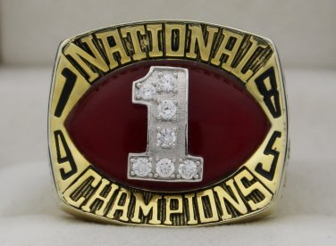 1985  North Carolina NCAA Basketball  National Championship Rings Ring