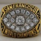 1981 San Francisco 49ers NFL Super Bowl Championship Rings  Ring