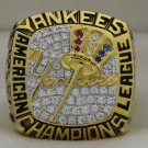 2003 New York Yankees AL American League World Series Championship Rings Ring