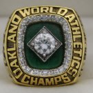 1989 Oakland Athletics World Series Championship Rings Ring