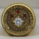 1987 St. Louis Cardinals NL National League World Series Championship Rings Ring