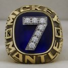 Mickey Mantle's 1983 Lifetime Achievement Retirement Ring