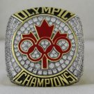 2014 Canada Olympic Hocket Team Championship Rings Ring