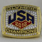 2012 U.S. Olympics Basketball Team Championship Rings Ring