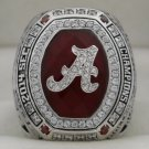 2014 Alabama Crimson Tide NCAA SEC National Championship Rings Ring