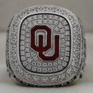 2015 Oklahoma Sooners NCAA Big 12 Championship Rings Ring