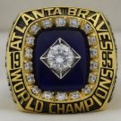 1995 Atlanta Braves World Series Championship Rings Ring