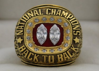 1995 Nebraska Cornhuskers NCAA National Championship Rings Ring