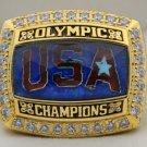 2008 U.S. Olympics Basketball Redeem Team Championship Rings Ring