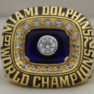 1972 Miami Dolphins NFL Super Bowl Championship Rings Ring