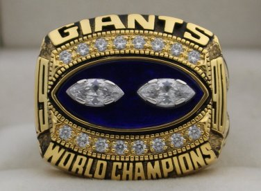 1990 New York Giants NFL Super Bowl Championship Rings Ring