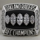 2002 Oakland Raiders AFC American Football Conference Championship Rings Ring
