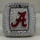 2015 Alabama Crimson Tide NCAA SEC National Championship Rings Ring
