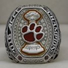 2015 Clemson Tigers NCAA ACC National Championship Rings Ring