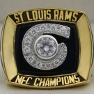 2001 Los Angeles St. Louis Rams NFC National Football Conference Championship Rings Ring