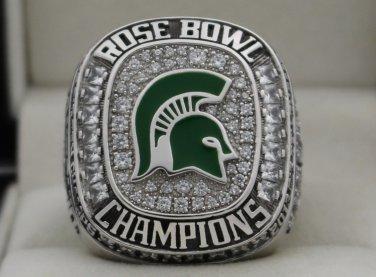 2013 Michigan State Spartans NCAA Rose Bowl and Big Ten Championship Rings Ring