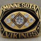 1976 Minnesota Vikings NFC National Football Conference Championship Rings Ring