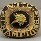 1974 Minnesota Vikings NFC National Football Conference Championship Rings Ring