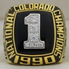 1990 Colorado Buffaloes NCAA National Championship Rings Ring