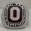 2010 OSU Ohio State Buckeyes NCAA Sugar Bowl and Big Ten Championship Rings Ring