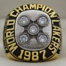 1987 La Lakers National Basketball Championship Rings Ring