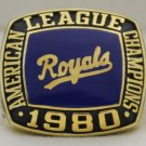 1980 Kansas City Royals AL American League World Series Championship Rings Ring