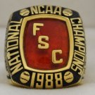 1988 Florida Southern Moccasins Baseball National Championship Rings Ring