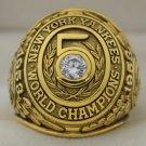 1953 New York Yankees World Series Championship Rings Ring