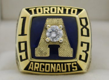 1983 Toronto Argonauts The 71st Grey Cup Championship Rings Ring