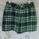 Limited Too Plaid Skort Skirt Shorts 14