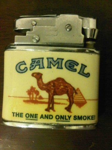 Inert Vtge 1995 RJRTC Camel Advertising Cigarette Lighter Tobacco