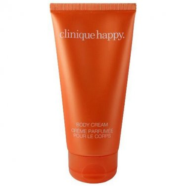 Clinique Happy 2.5 Fl Oz Smooth Body Cream 75ml